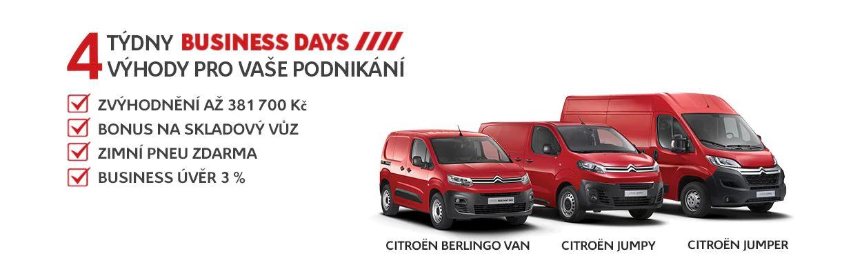 Užitkové vozy Citroën